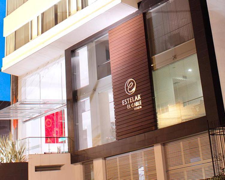Fachada Hotel ESTELAR El Cable